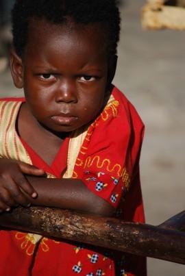 Little orphan girl