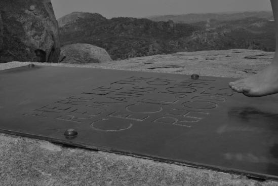 Cecil John Rhode's grave, MATOPOS